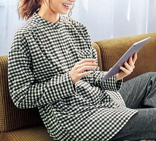やわらかフランネルのパジャマ