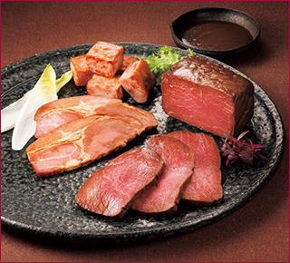ローストビーフ・焼豚詰合せ